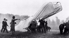 First Fatal Crash in an Airplane