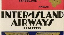 Inter-Island Airways Baggage Label