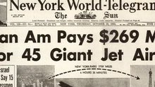 Pan Am Jet Purchase Article