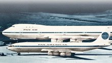 Pan Am Boeing 707 and 747 Jets