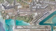 Honolulu International Airport Aerial View