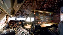 Boeing 747 Cockpit in America by Air