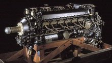 Packard Merlin V-1650-7 V-12 Inline Engine