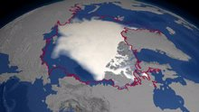 2004 September Minimum Sea Ice Concentration
