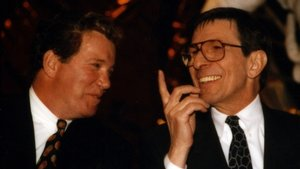 Shatner and Nimoy at Exhibition Opening