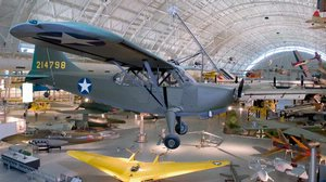 Stinson L-5 Sentinel at the Udvar-Hazy Center