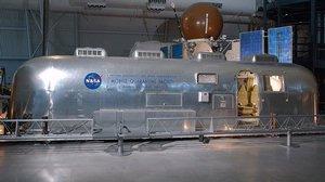 Mobile Quarantine Facility (Apollo 11) at the Udvar-Hazy Center