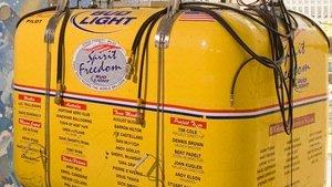 Steve Fossett's Spirit of Freedom gondola