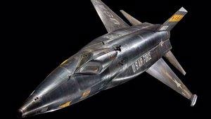North American X-15 in Boeing Milestones of Flight Hall