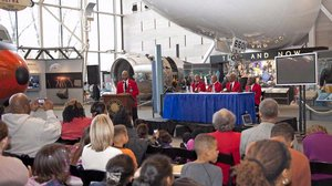 Tuskegee Airmen at the Museum's Family Day