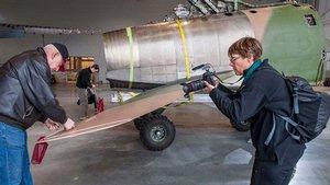 North American F-100 Super Sabre Move
