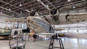 Sikorsky JRS-1 in the Mary Baker Engen Restoration Hangar