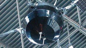 Reconstructed Replica of Explorer 6 Satellite