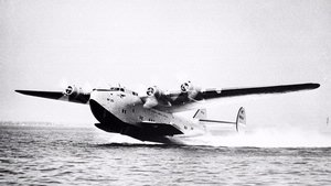 Boeing 314 Taking Off