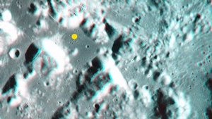 Taurus-Littrow on the Moon in 3-D