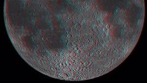 Moon in 3-D