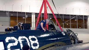 Curtiss SB2C-5 Helldiver Restoration