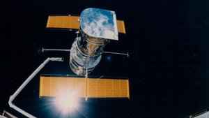 Deployment of Hubble Space Telescope