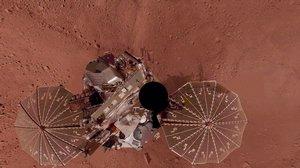 Phoenix Lander Self Portrait on Mars