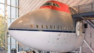 Boeing 747 Forward Fuselage in America by Air