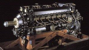 Packard Merlin V-1650-7 V-12 Inline Engine