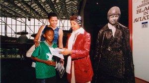 Bessie Coleman Reenactment