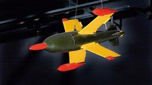 Ruhrstahl X-4 Missile at the Udvar-Hazy Center
