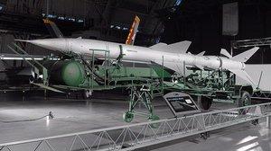 SA-2 Guideline Missile at the Udvar-Hazy Center