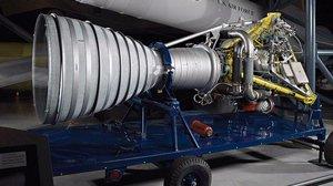Jupiter S-3 Rocket Engine at the Udvar-Hazy Center
