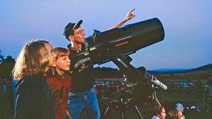 Sean O'Brien, staff astronomer of the Albert Einstein Planetarium