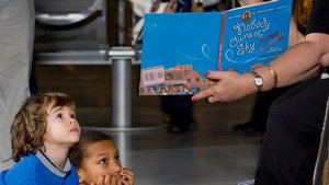 Story Time at the Steven F. Udvar-Hazy Center