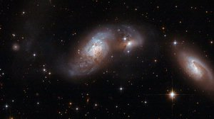Hubble Interacting Galaxy IC 4687